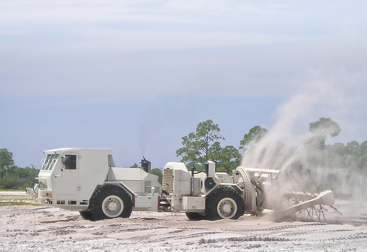 Hydrema 910MCV2-AMCS Mine clearing vehicle clearing mines