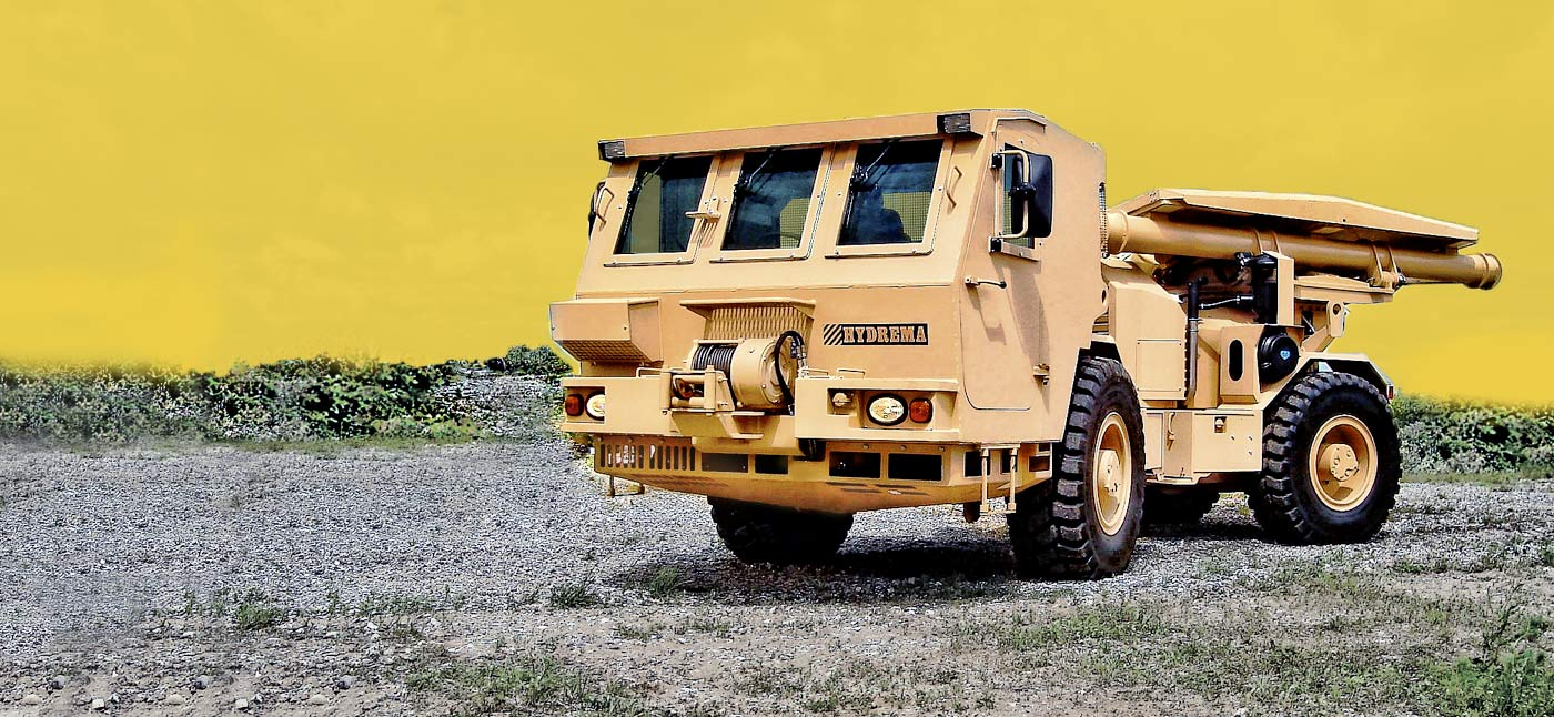 Hydrema 910MCV2-AMCS Mine clearing vehicle