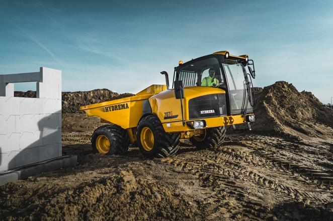 Hydrema ready to raise standards for safety with new Dump Truck